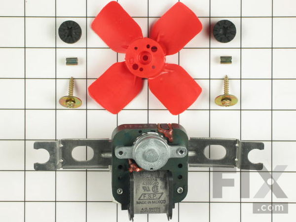 376645-1-M-Whirlpool-482731            -Evaporator Fan Motor Kit