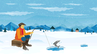 Winter Fishing Tips and Tactics