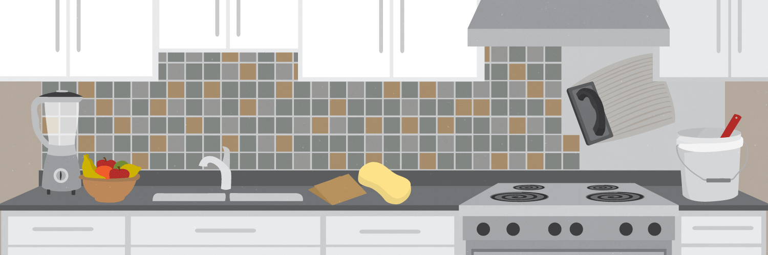 How To Tile Your Kitchen Backsplash In One Day Fix Stunning Backsplash Installer Set