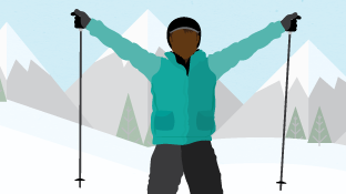 Learn to Ski Fearlessly With Terrain-Based Learning