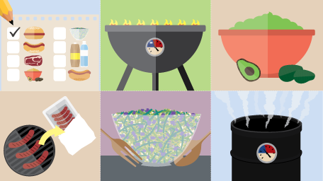 Plan a Large Outdoor Cookout