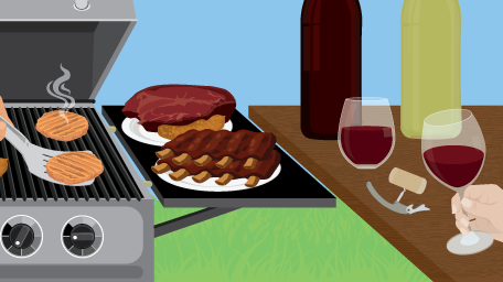 Grilling and Grapes