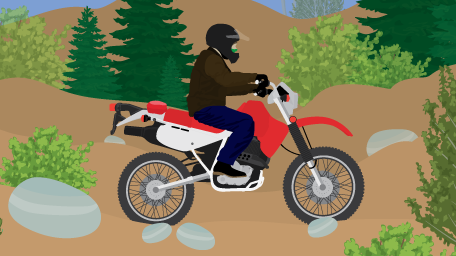 Off-Road Motorcycle Touring