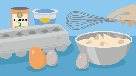 All About Baking With Eggs