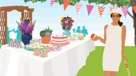 How to Throw an English Garden Party