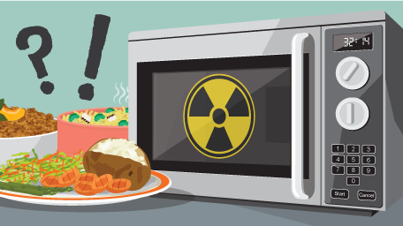 Microwave Myths: Is my Microwave Bad for Me?