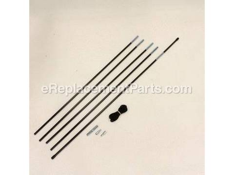 Replacement Kit - Tent Fiberglass Pole 8.5Mm Diameter – Part Number: 5010000547