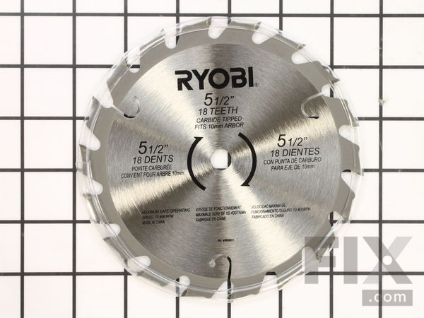 Ryobi circular saw parts repair help fix 5 12 12 arbor 18 tooth circular saw blade keyboard keysfo Image collections