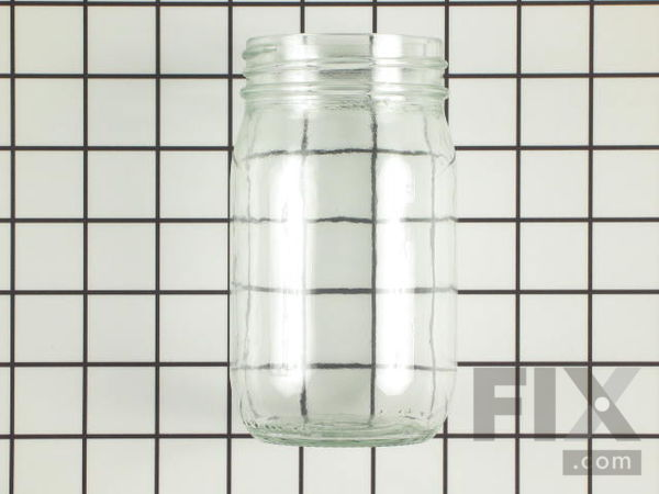 WPY707869 Glass Grease Collecting Jar