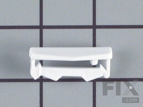 Upper Dishrack Track End Cap – Part Number: 5300809927