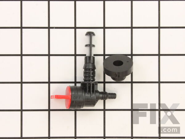 8911051-1-S-Briggs and Stratton-192980GS-Fuel Valve W/Bushing