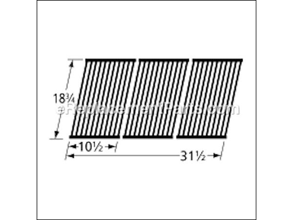 54453 Porcelain Steel Wire Cooking Grid