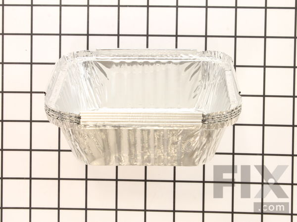 62007 Grease Trays Foil 5 Pieces