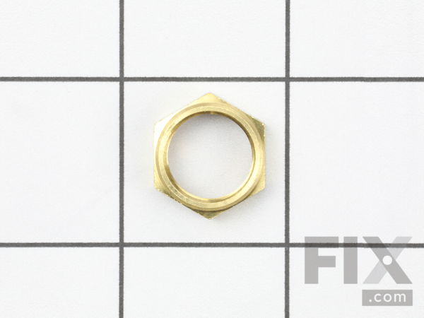 10512509-1-S-Weber-87504-Brass Hex Nut For Side Burner Valve