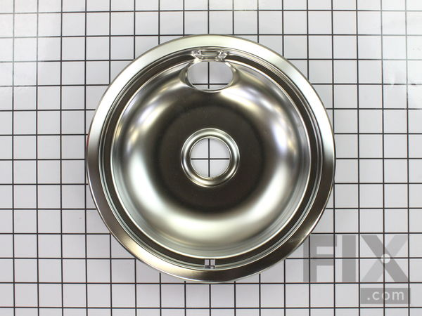 "Chrome Drip Bowl - 8"" – Part Number: WPW10196405"