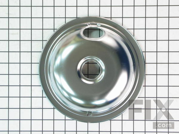 "Drip Bowl - 8"" – Part Number: W10196405RW"